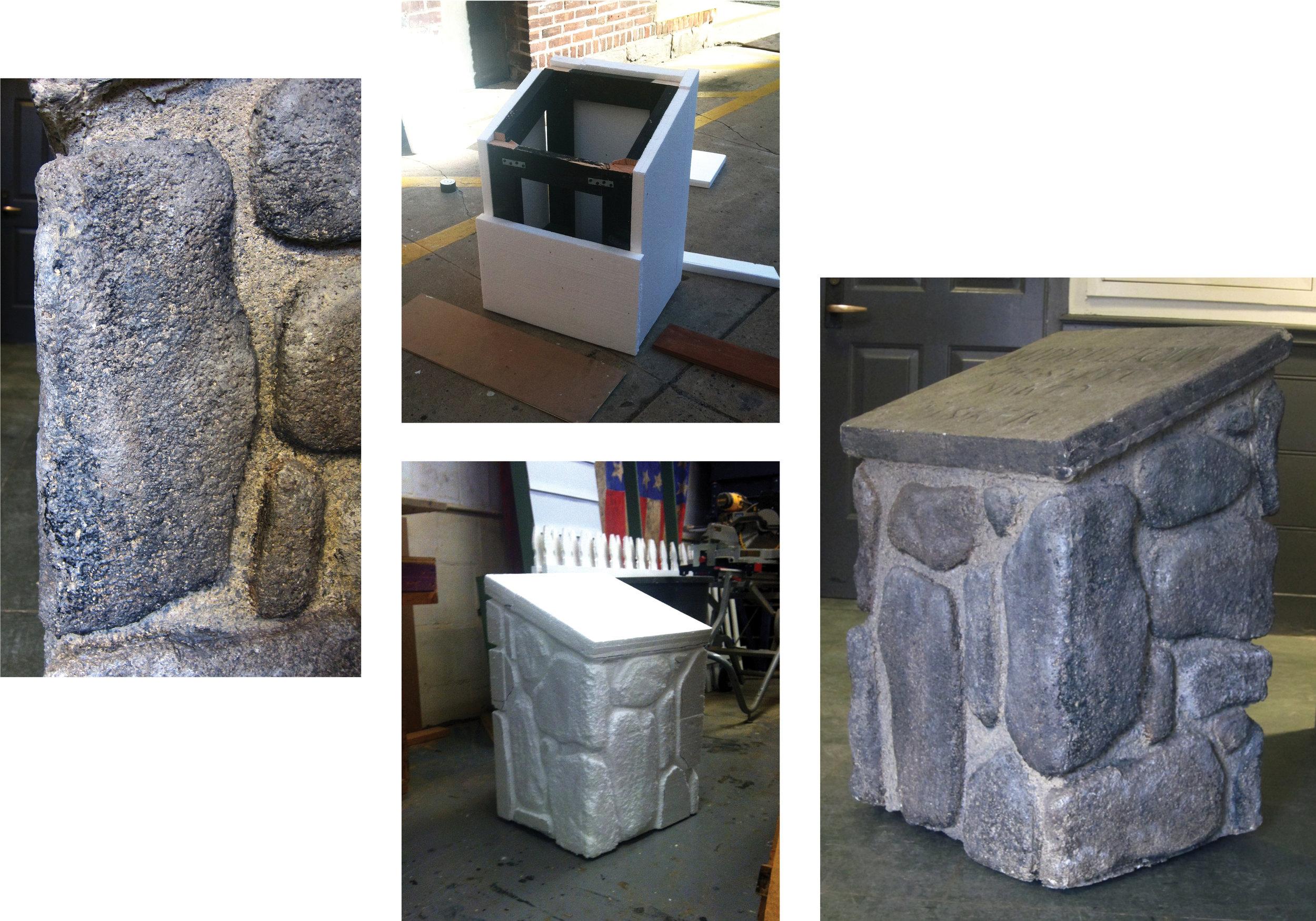 Faux-Stone Monument