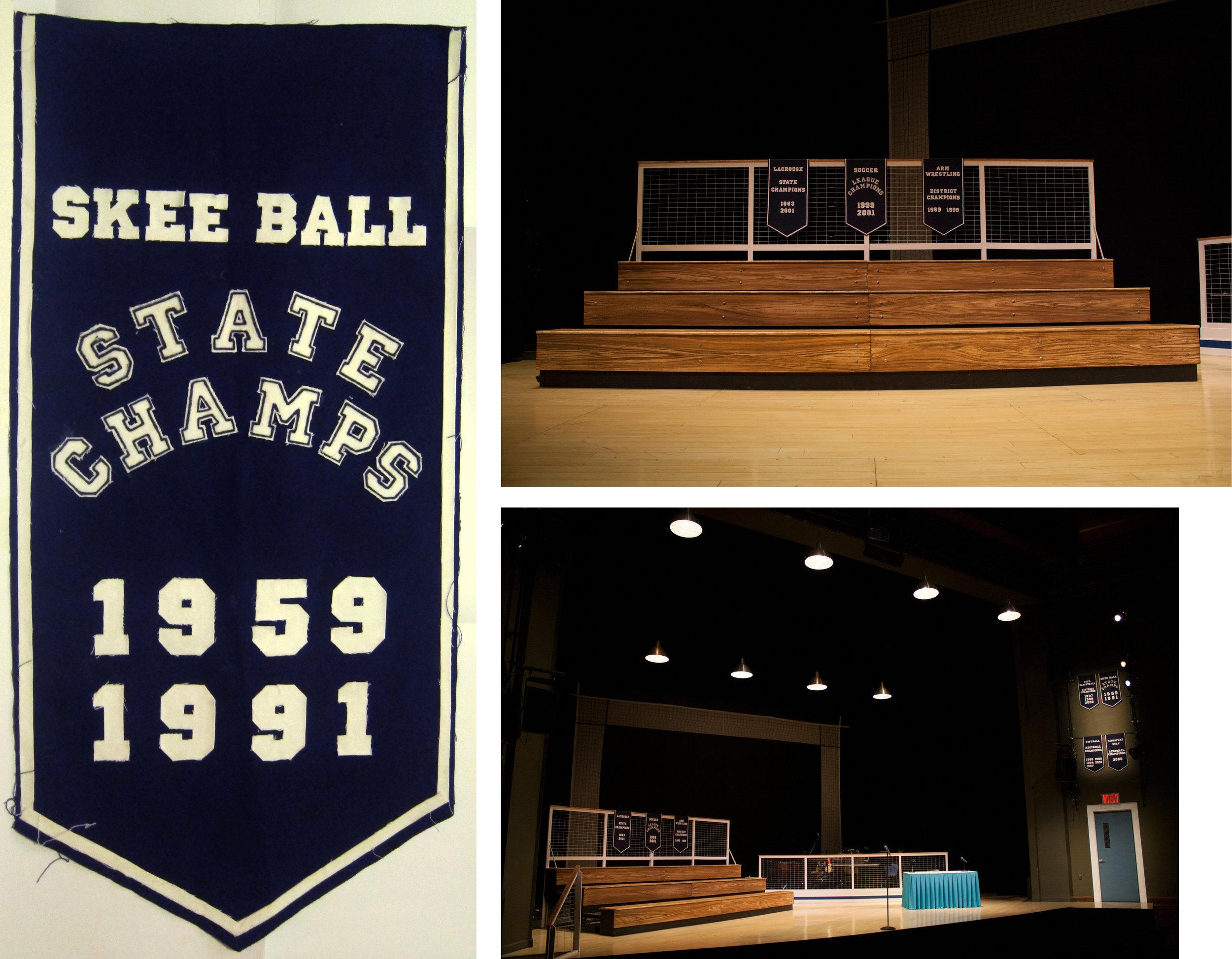 Skee Ball Banner