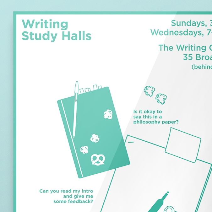 Writing Center Study Halls
