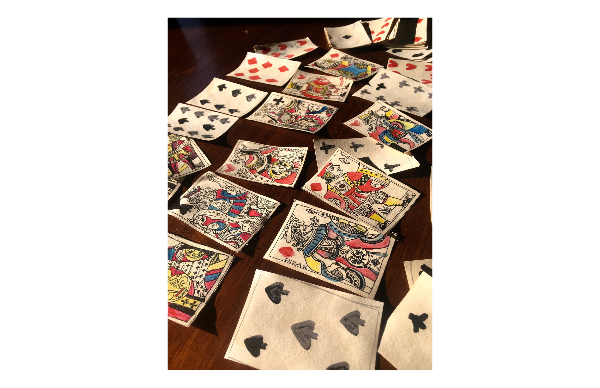 17th Century French Playing Cards, full deck
