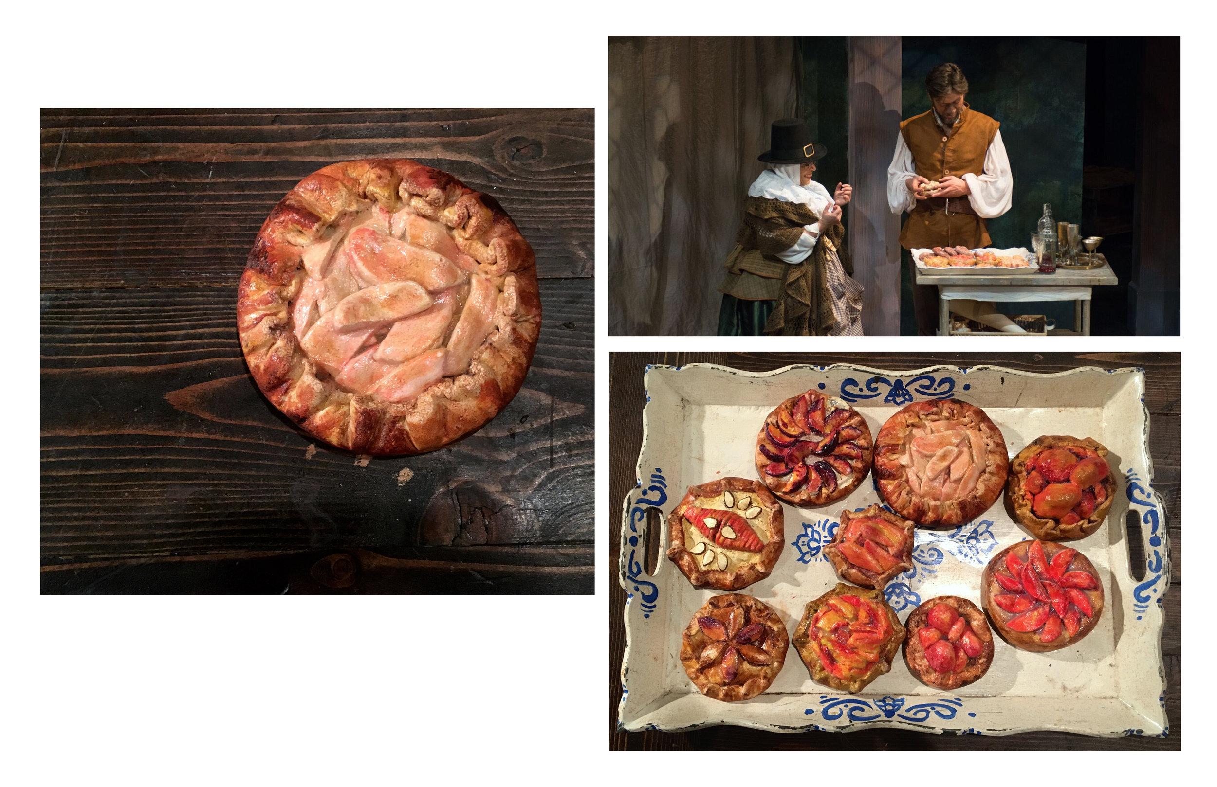 Platter of pies