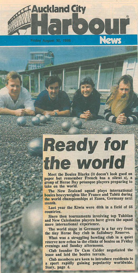 Auckland City Harbour News, August, 1996