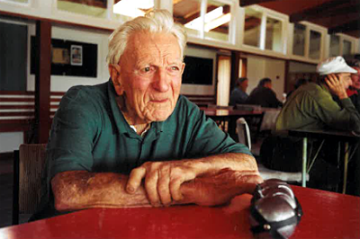Colin Priestley, caretaker at the Club until 2005