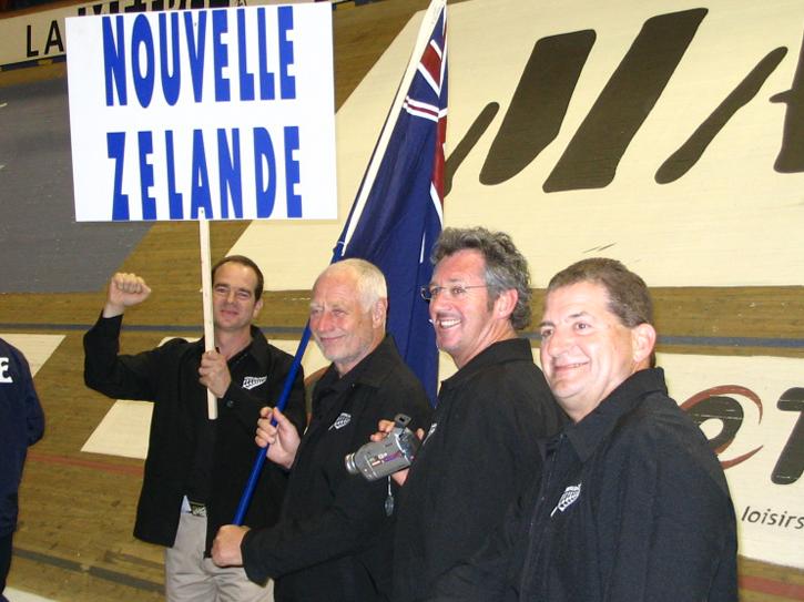World Championship 2004: Allan Fletcher, Ian Baker, Richard Swaney and Christian Fouquet