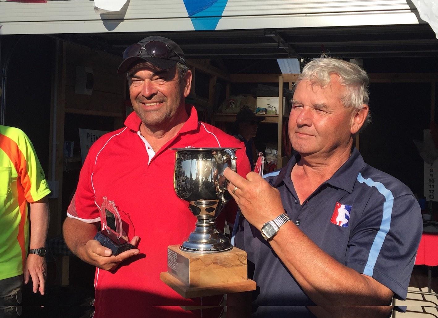 Championship Winners: Lee Taffard & Mervyn Wilson (Bayview/St Kilda)