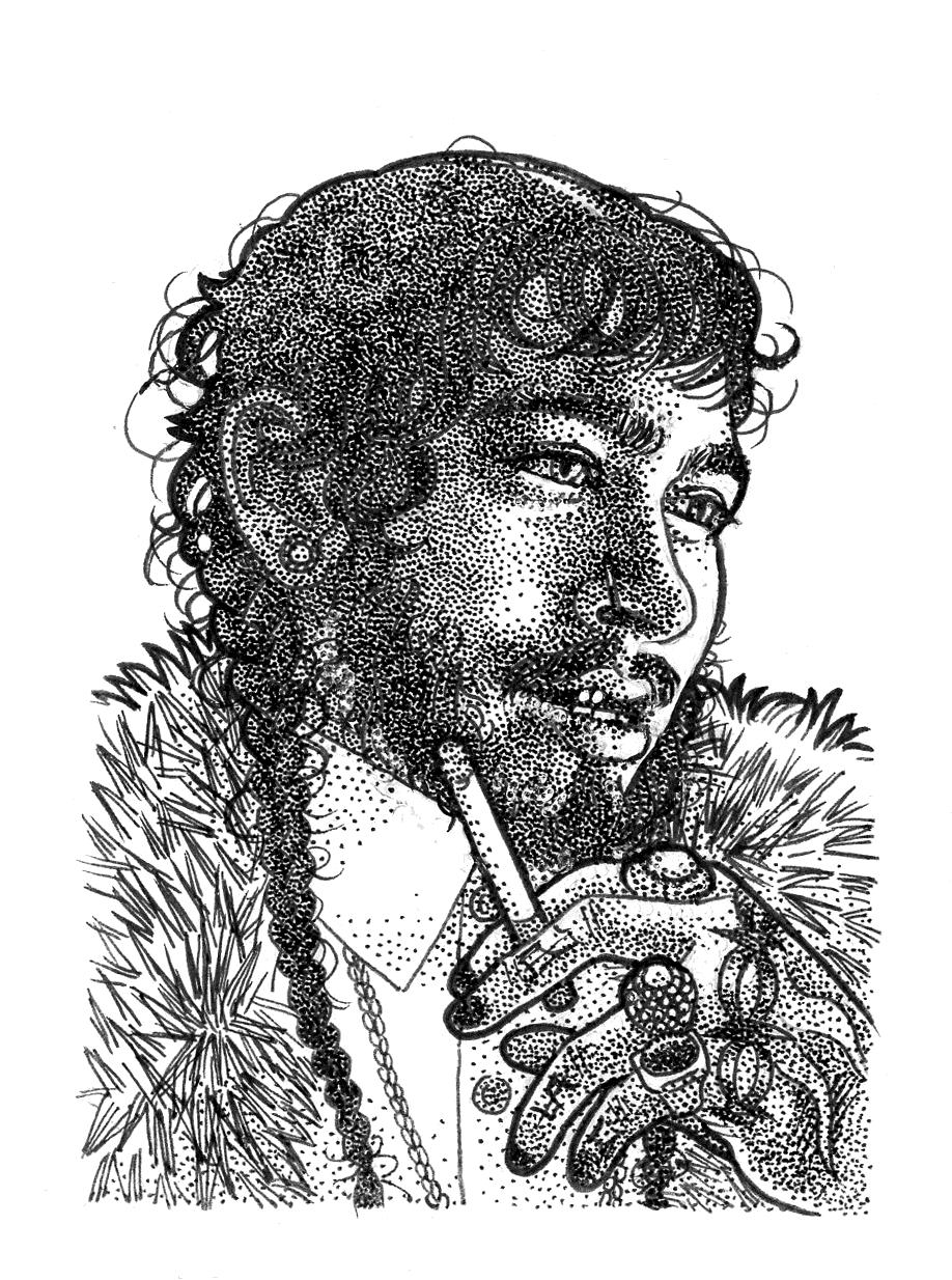 Portrait Of Post Malone