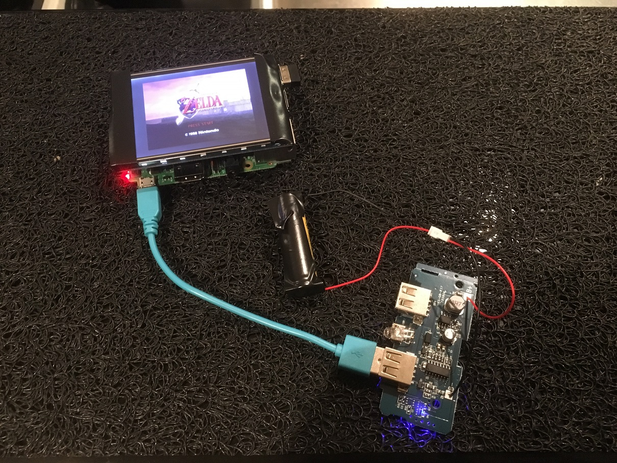 Powering the Pi off a single 3.7v Li-on battery