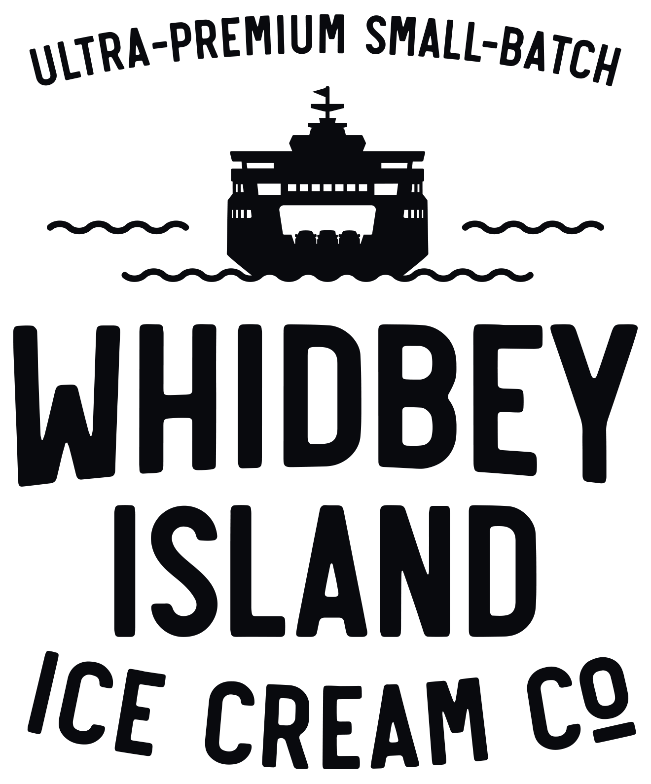 Whidbey Island Ice Cream Co logo