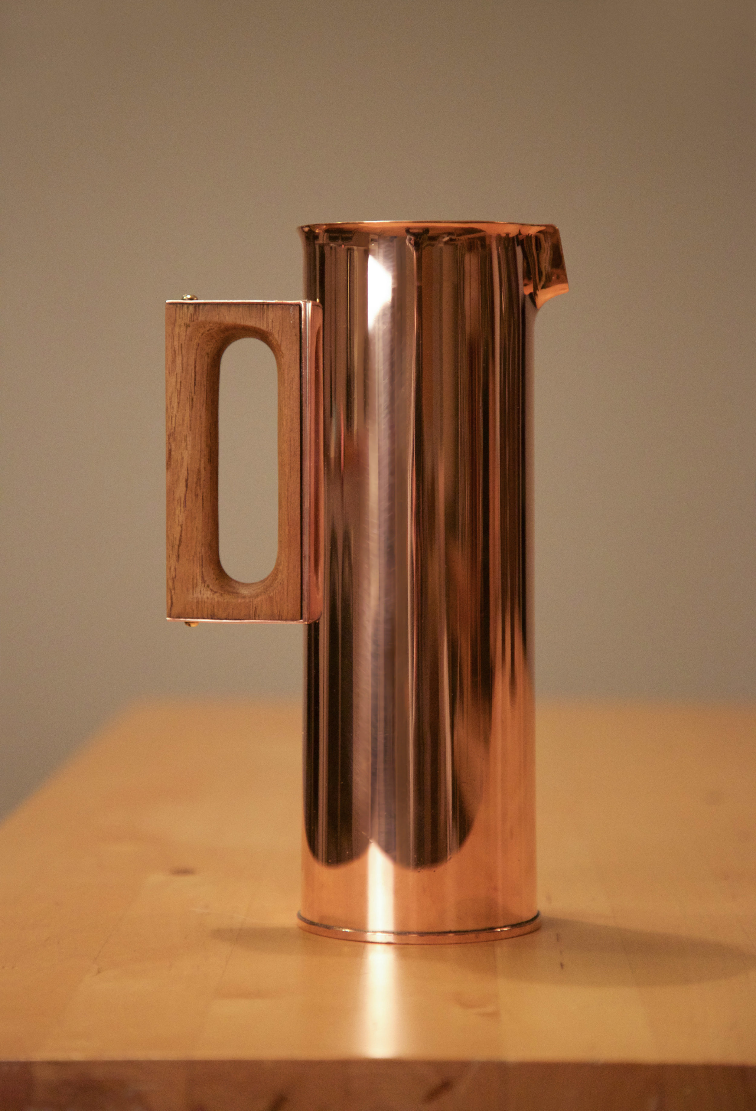 Click here for the 1960s Tapio Wirkkala Copper Pitcher