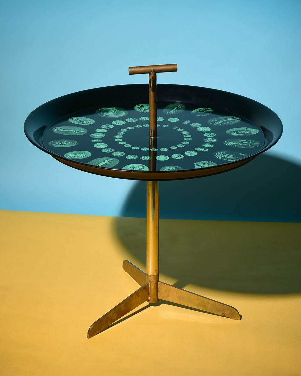Click here for the 1950s Piero Fornasetti Table