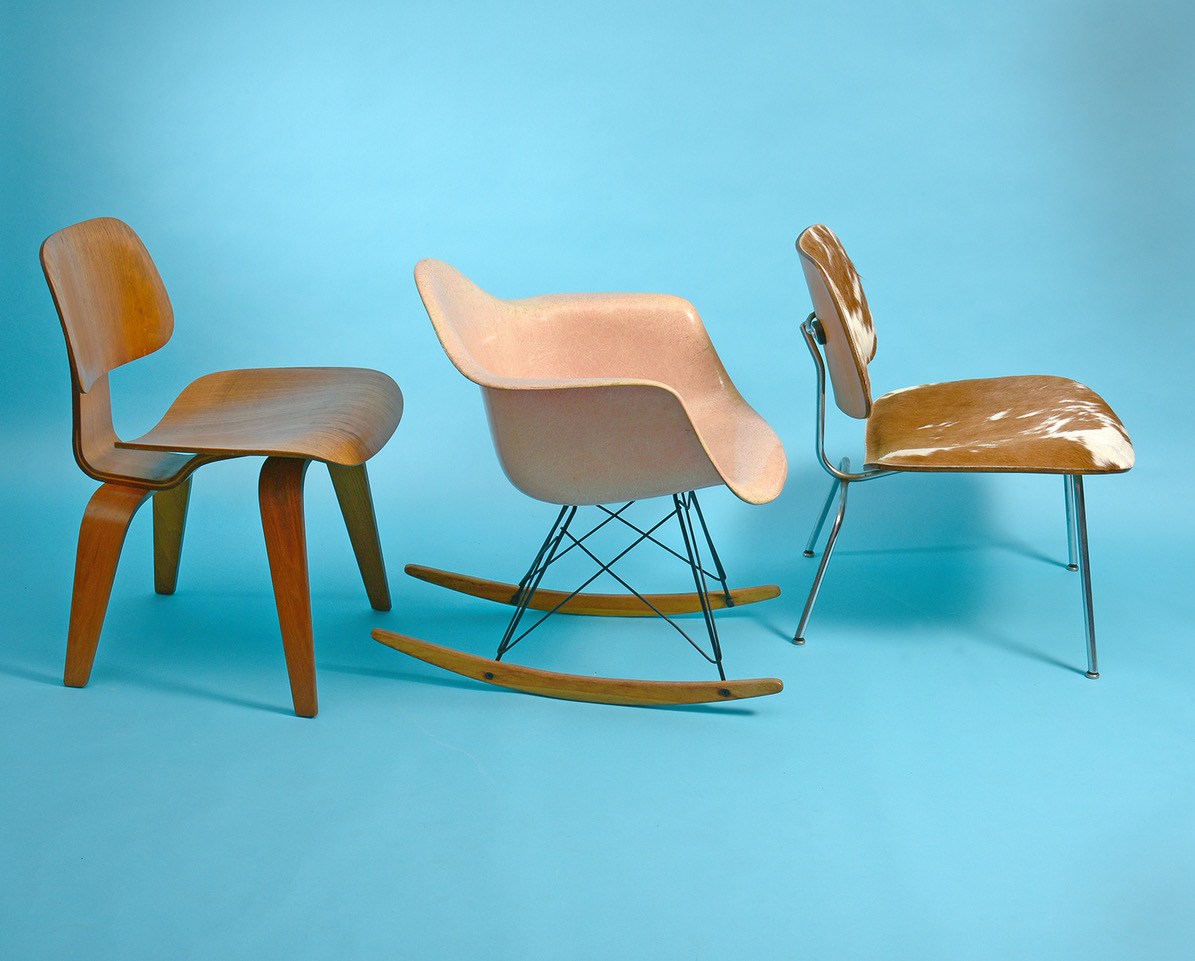 Click here for Charles and Ray Eames DCW, LCM, Rocker