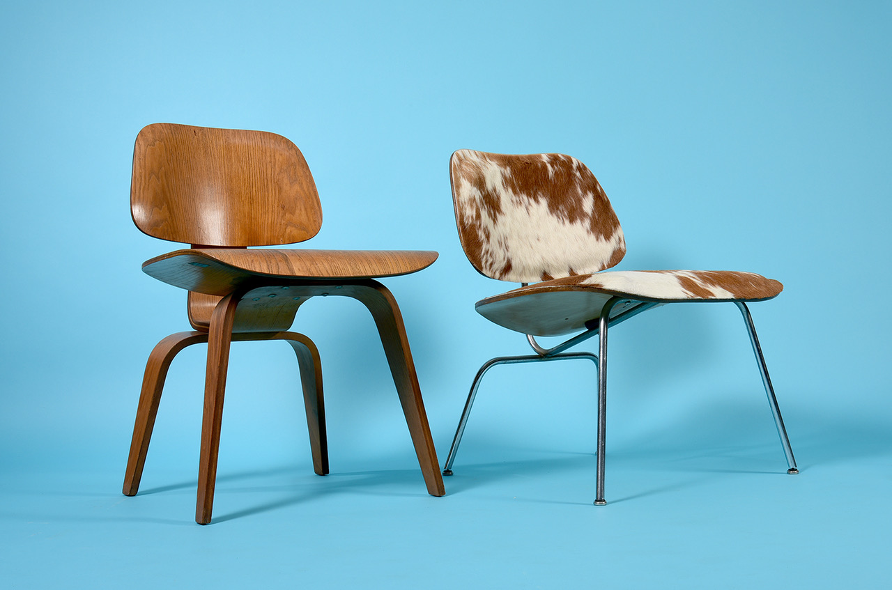 Click here for the 1950s Eames DCW Chairs