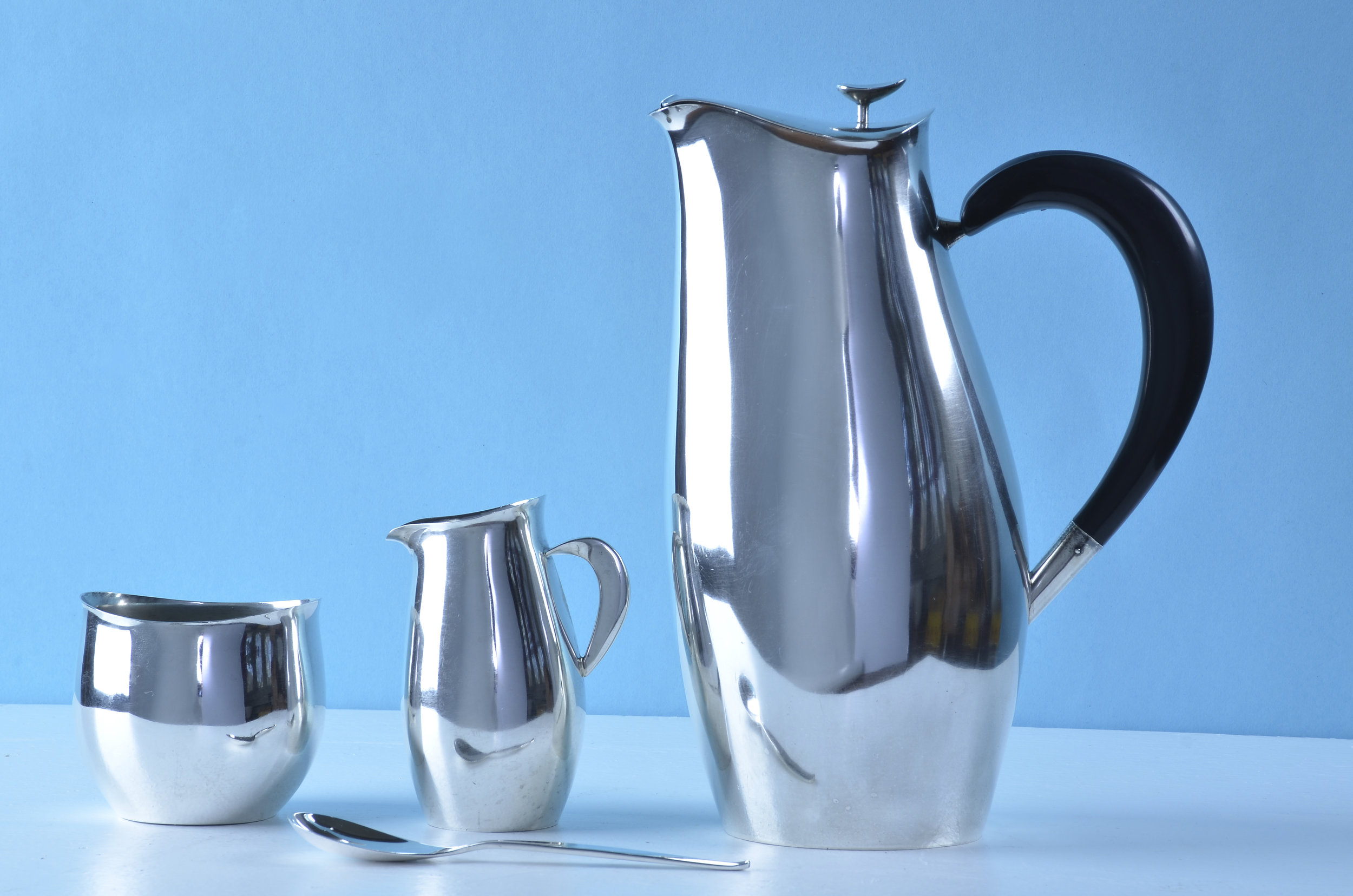 Robert King and John Van Koert for Towle Silversmiths Contour Coffee Service