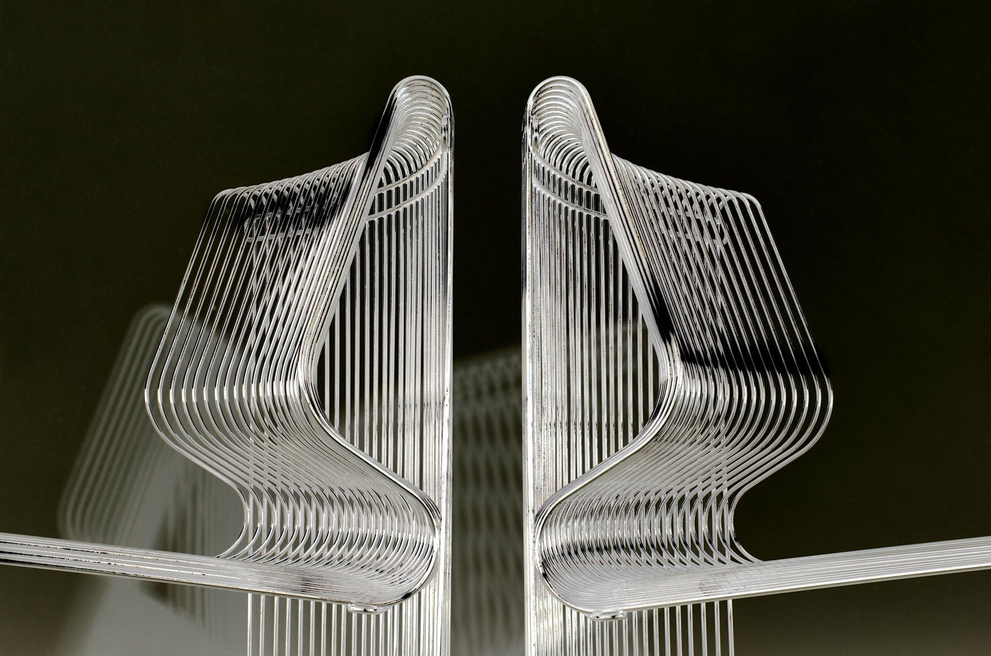 Verner Panton Pantonova Chairs, Circa 1970's