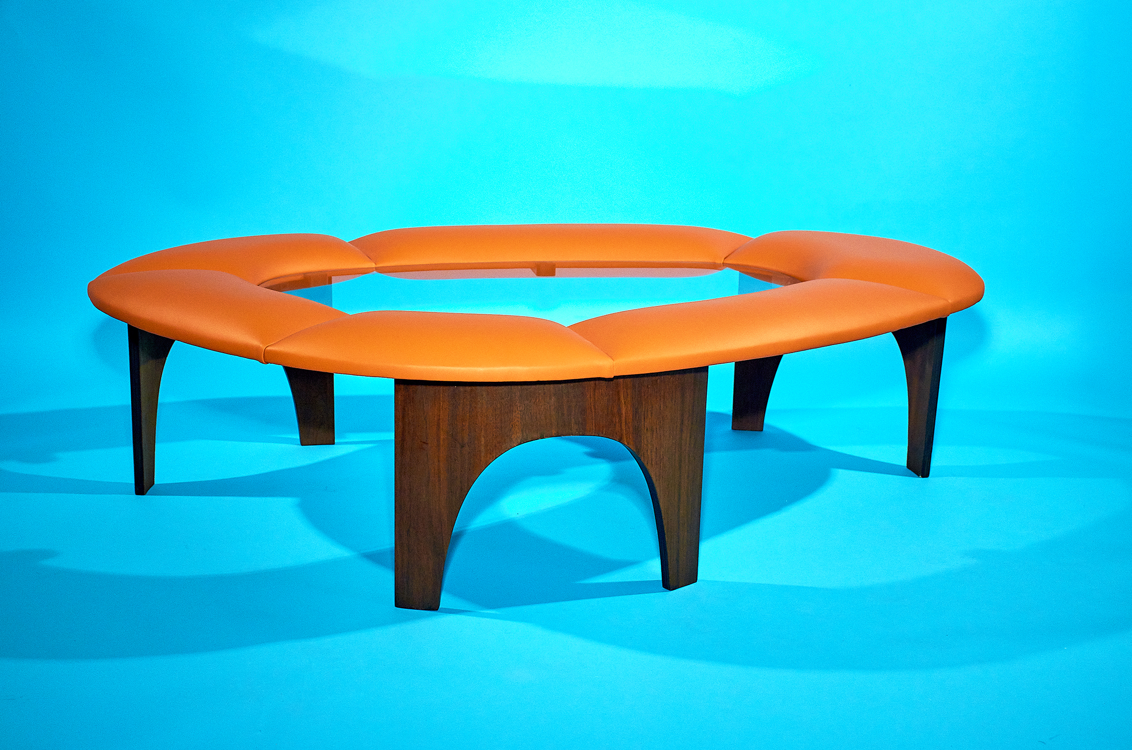 Henry P. Glass Coffee Table