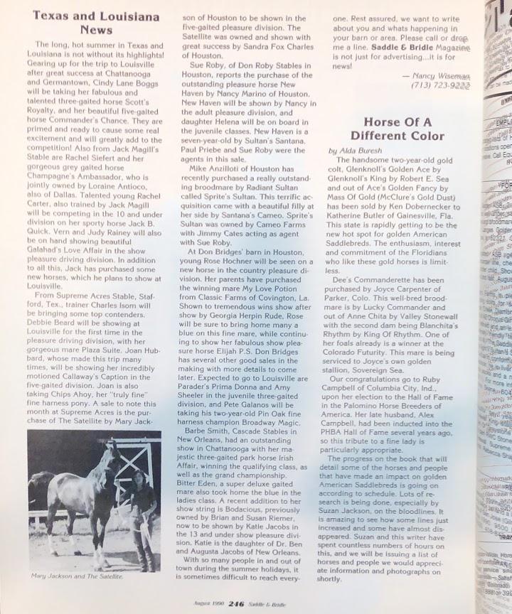 S&B AUG 1990