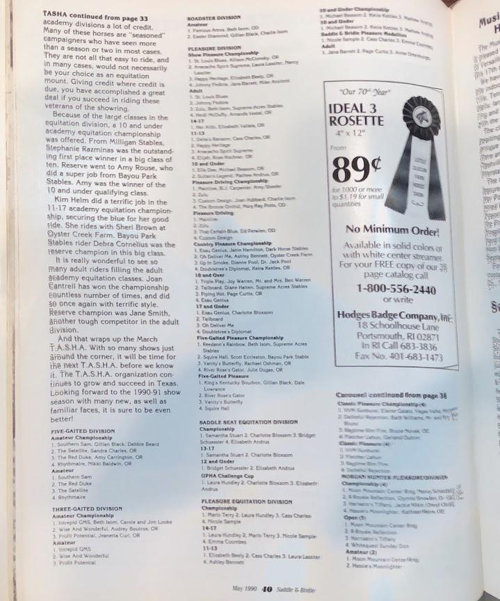 S&B MAY 1990