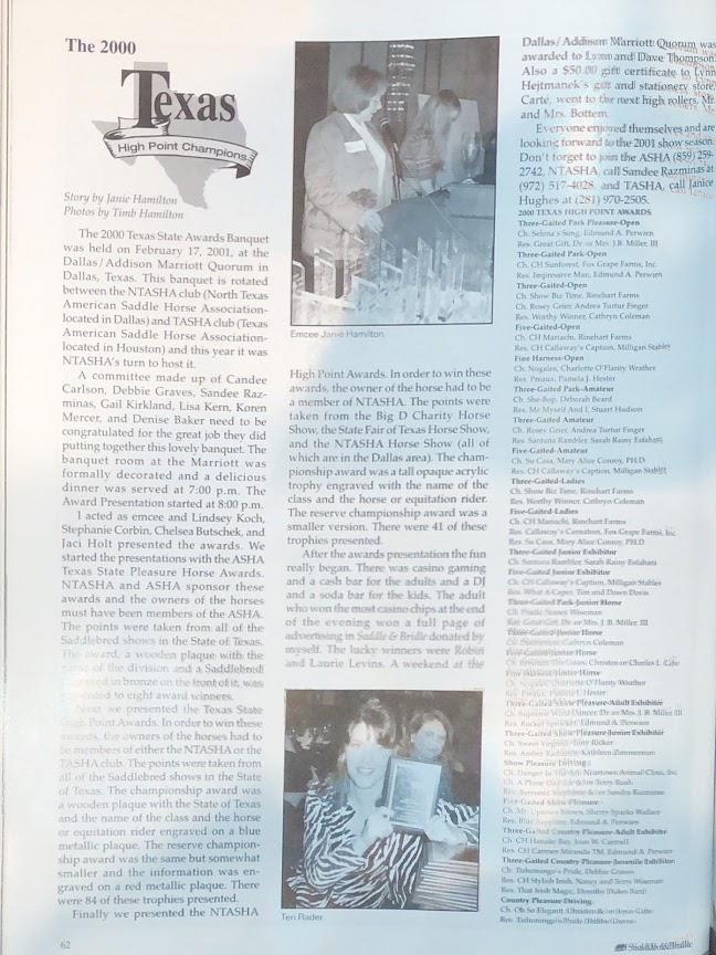 S&B APR 2001
