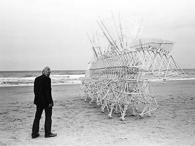 STRANDBEEST    About a Dutch artist, his kinetic sculptures and their coexistence