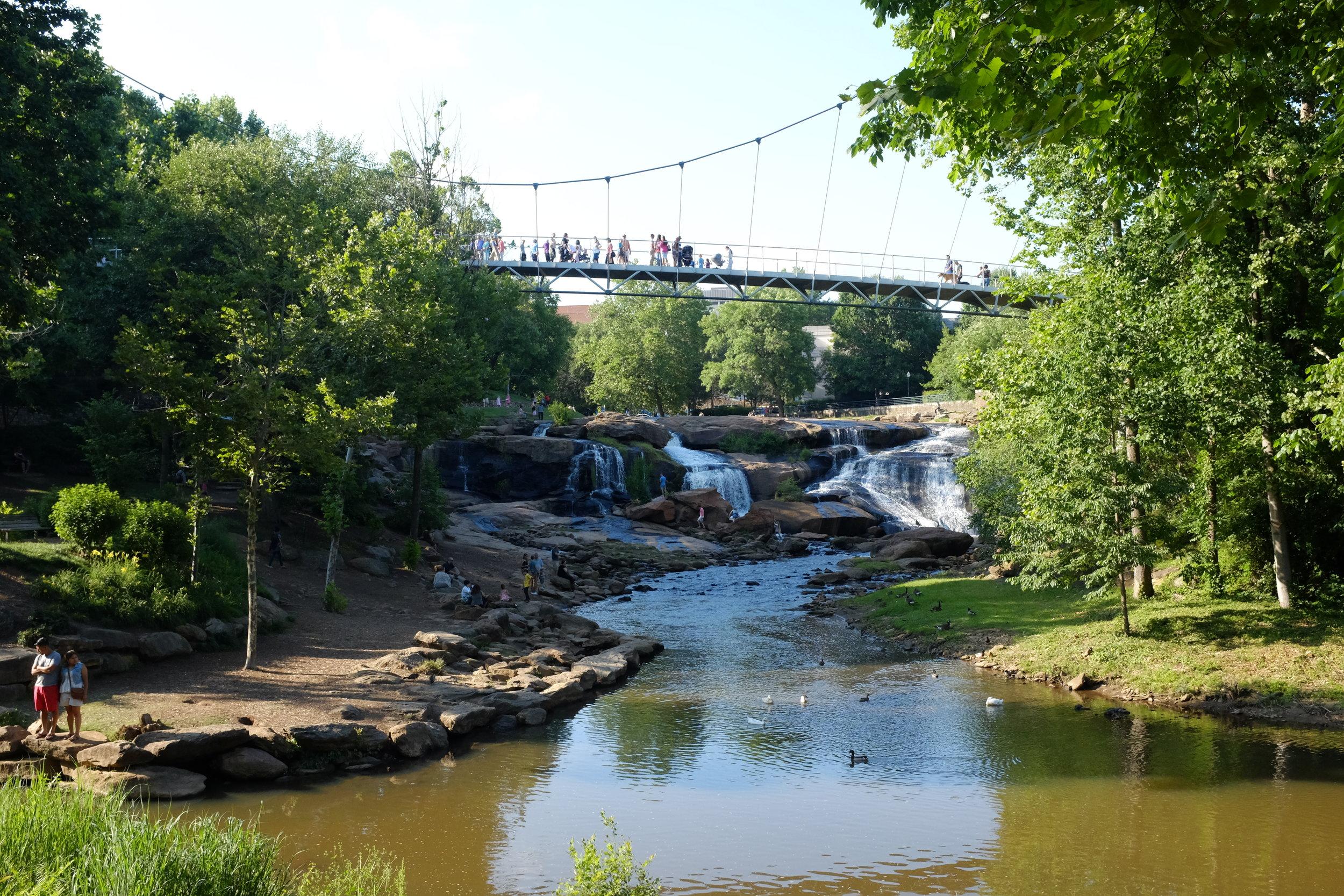 Falls Park-Greenville, SC