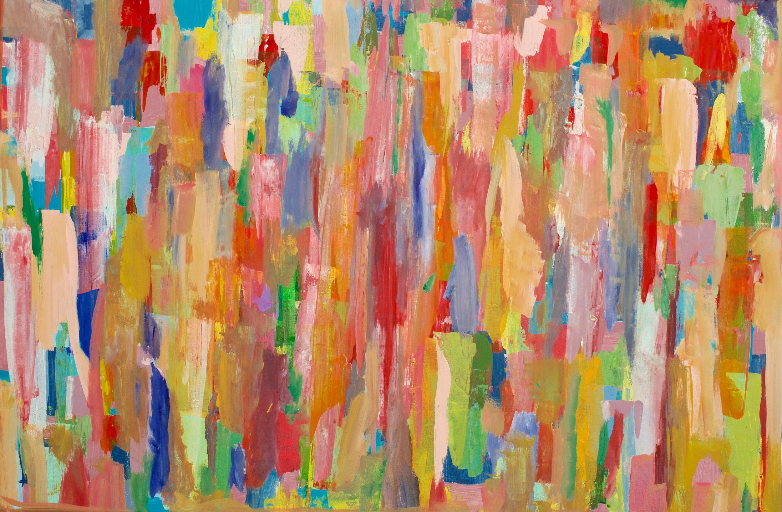 Communitas - Painting by Louis Holstein