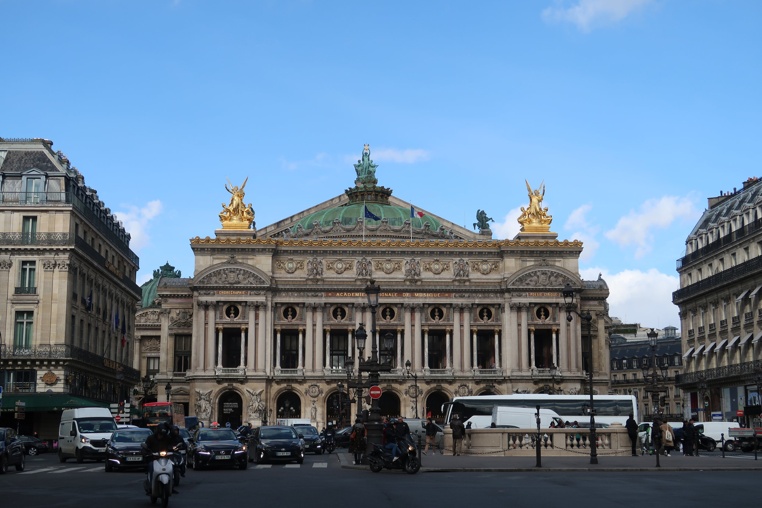 Palais Garnier (Paris Opera House) This opera house inspired the Phantom of the Opera story.