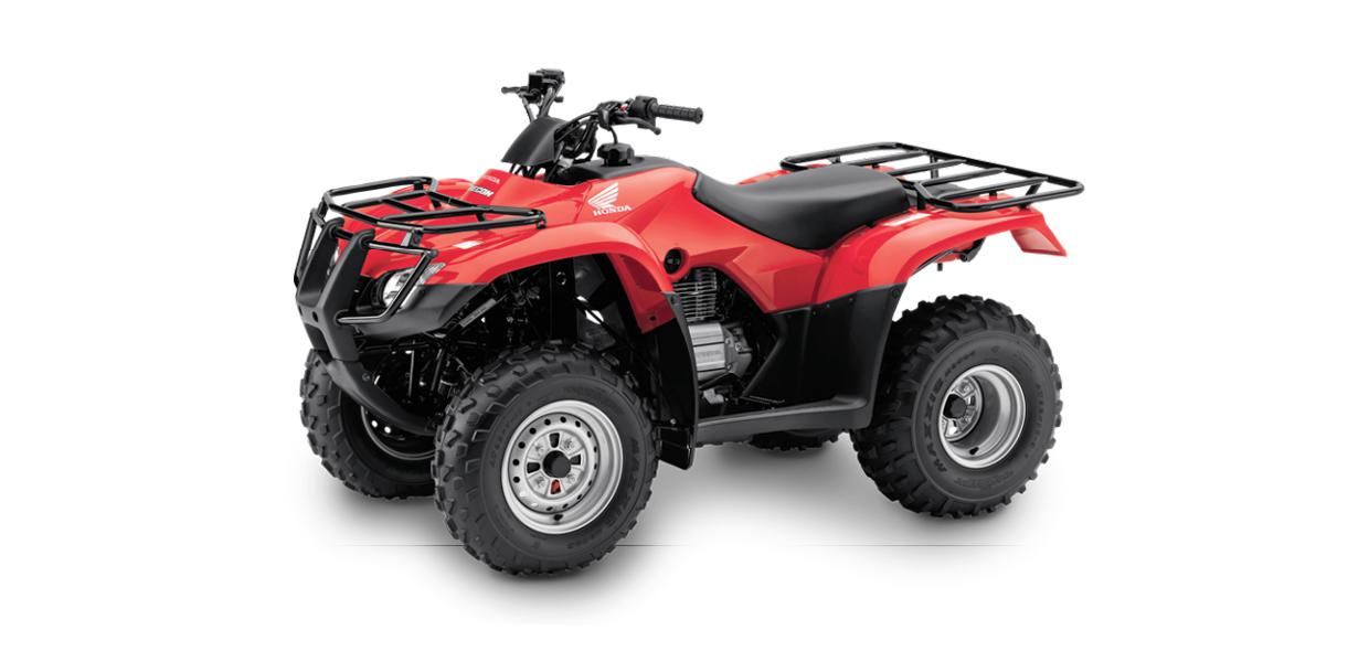 TRX250 TM - 250cc, Two-Wheel Drive, ManualSee the Full SpecificationsArrange a Demo →