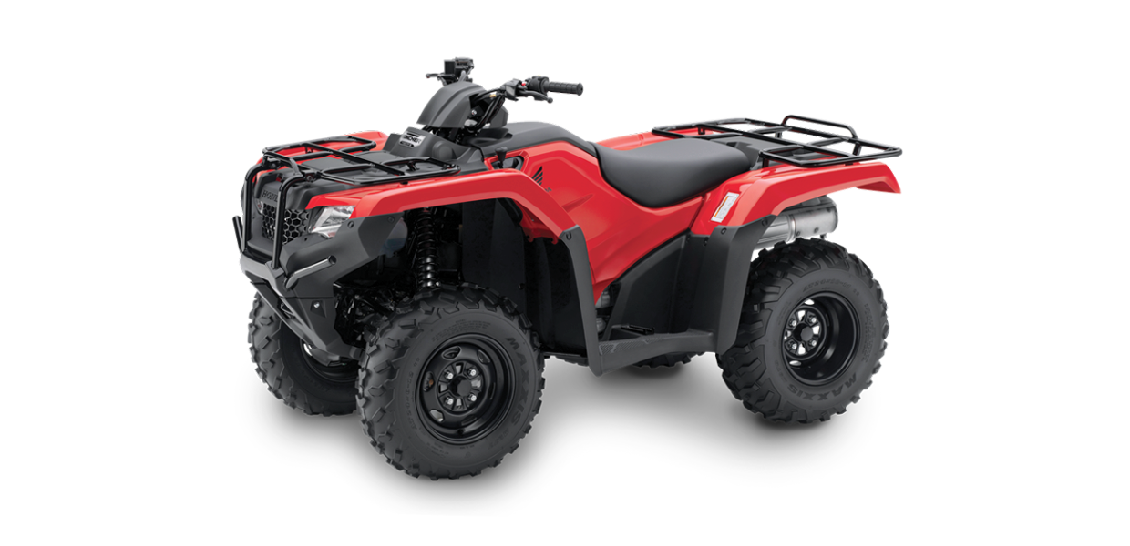 TRX420 FM1 - 420cc, Four-Wheel Drive, ManualSee the Full SpecificationsArrange a Demo →