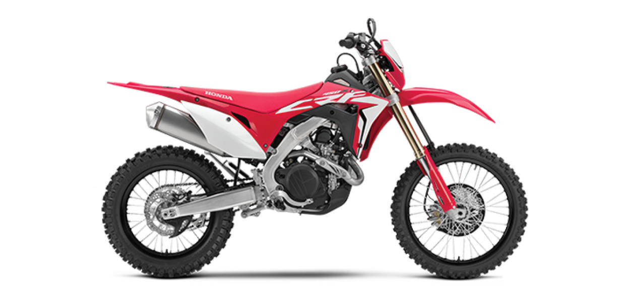 CRF450X - See the Full SpecificationsArrange a Demo →