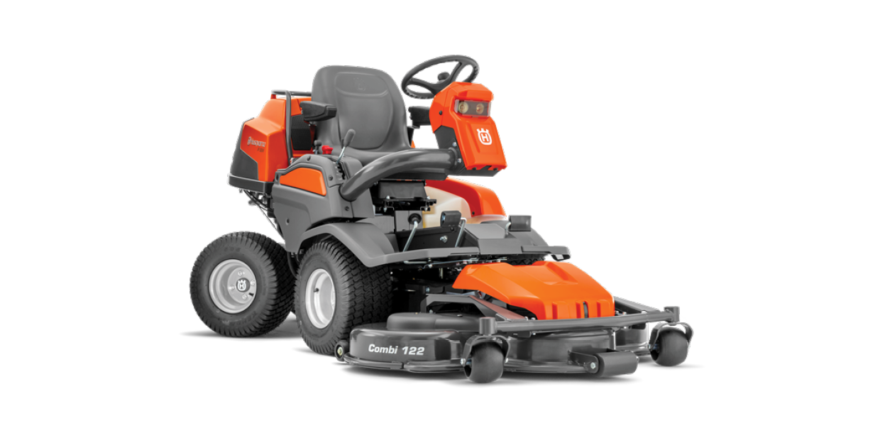 Front Mowers - See the Range at Husqvarna →