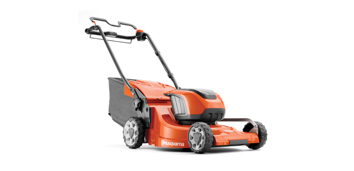Battery Lawnmowers - See the Range at Husqvarna →