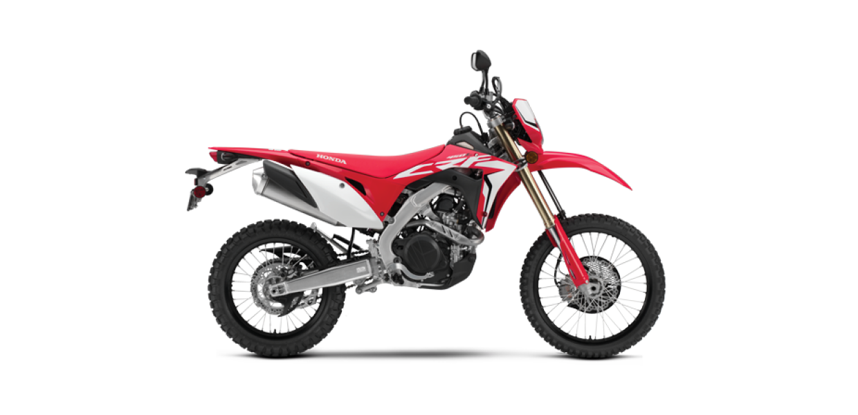 CRF450L (New) - See the Full SpecificationsArrange a Demo →