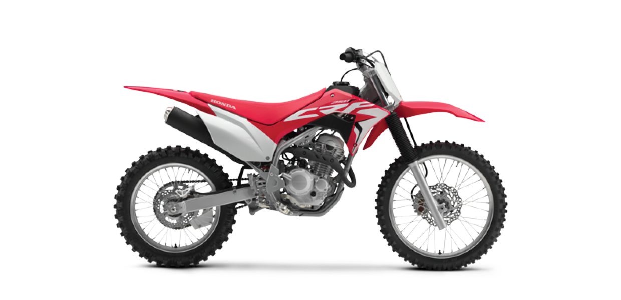 CRF250F (New) - See the Full SpecificationsArrange a Demo →