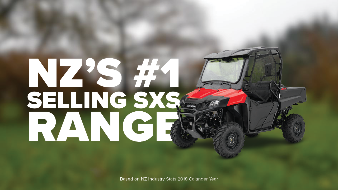 NZ's #1 Selling Side-by-Side Range - See the details here →