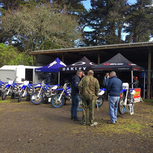 The @michelinmotorcycle  tyre test day hosted by @northern_accessories @srcroad was a huge success, @nzblimmers & Greg got to test all the Michelin Star cross range as well as the new Michelin Tracker.Special guest @bentownleymx was on hand with his fleet of bikes with fresh rubber fitted.