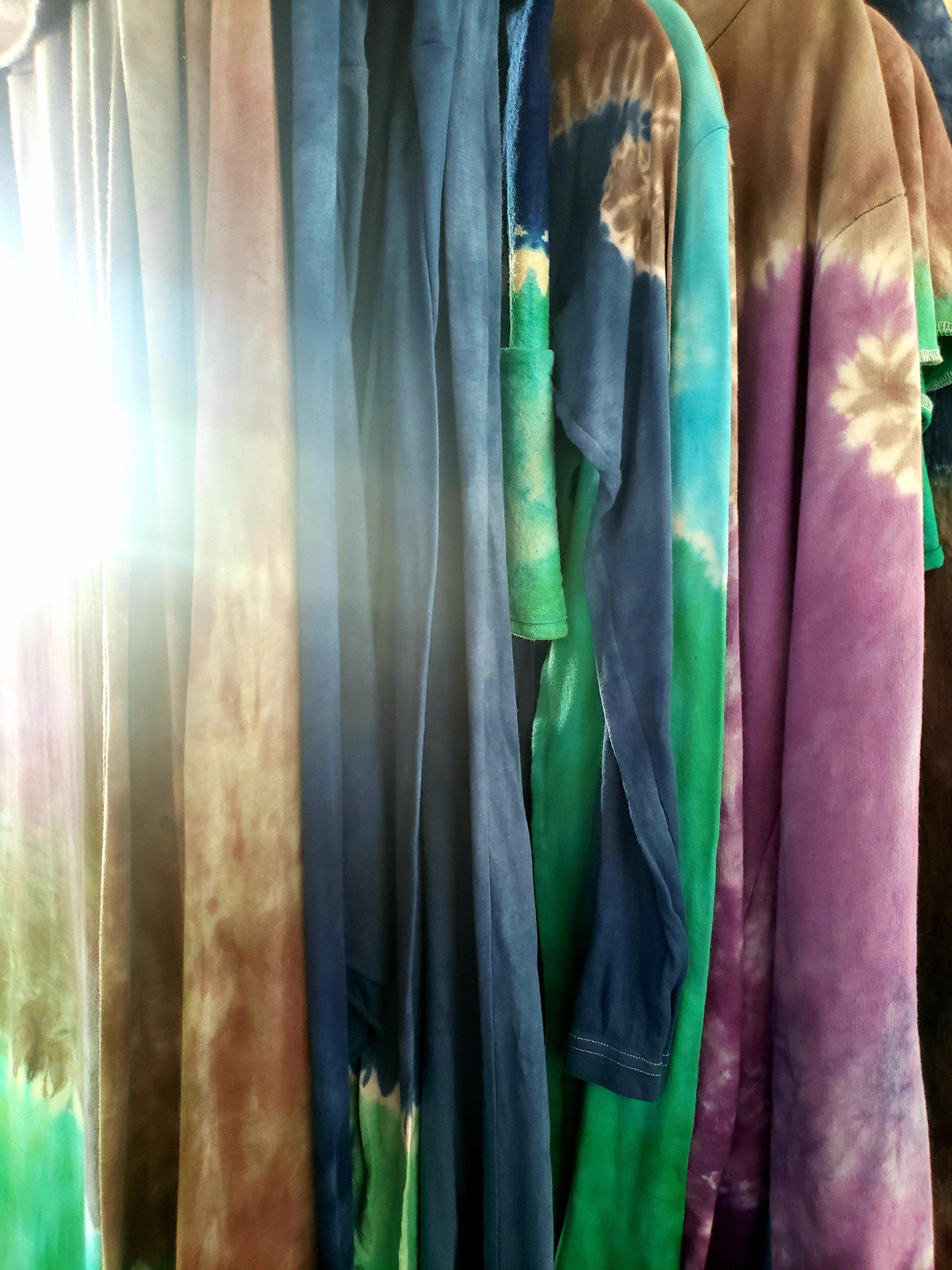 Color Shibori Style -