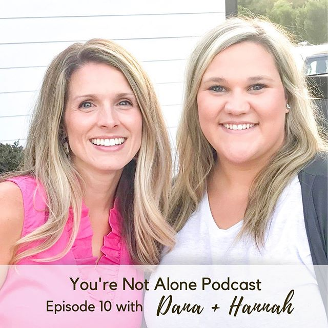 Episode TEN of @yourenotalonepodcast is live! @hkburrow40 + I loved sharing a few our favorite Instagrammers (mine include @just.ingredients, @cottonstem, @nestingwithgrace, + @certifiedcelebrator), most listened to podcasts (@thesayitsouthern + @jamieivey Happy Hour), and much more! We hope you listen in with your favorite app! @applepodcasts @spotify @castbox_fm • • • #podcast #podcaster #podcastersofinstagram #girlchat #ynapodcast #theseareafewofmyfavoritethings