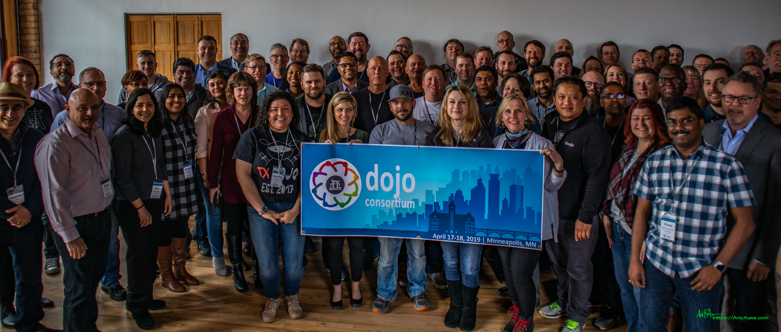 First ever Dojo Consortium Attendees