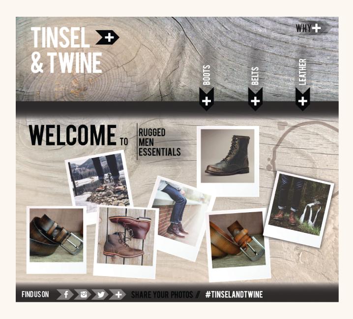 TINSEL & TWINE   website