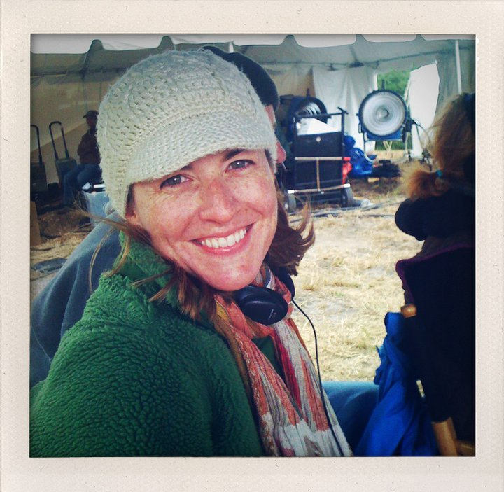 This is me at my work-happiest. Shooting Ocean Spray commercials in 2011 at a Massachusetts cranberry bog.