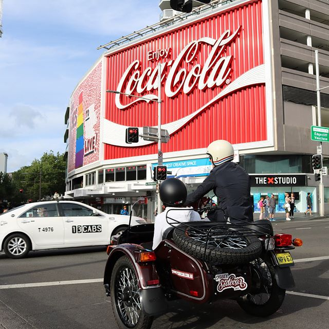 Some friends were in town for the weekend so I took them out to see the heart of the eastern suburbs.  #sydneysidecar #duffreserve #cokesign