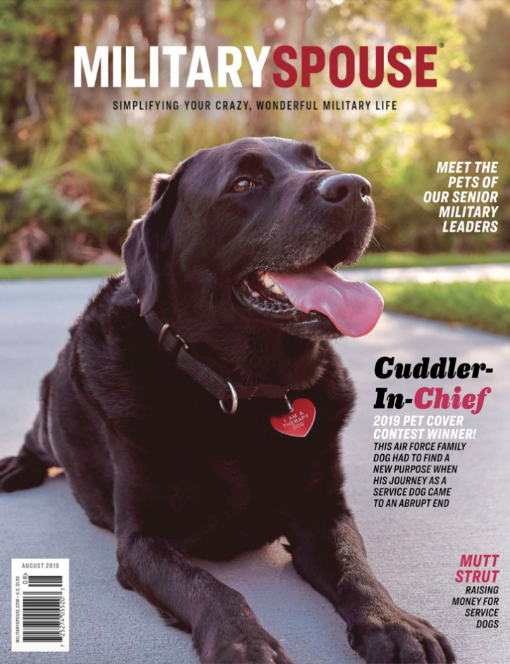 Jenn McIntyre - Military Spouse Magazine August 2019