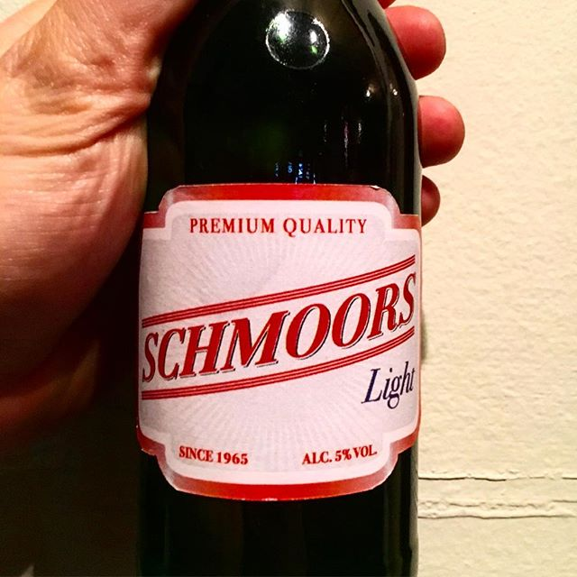 Sunday night for you down? Reach for an ice cold Schmoors Light.