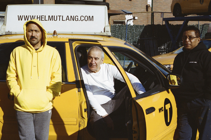NYC Taxi Drivers modelling for Helmut Lang