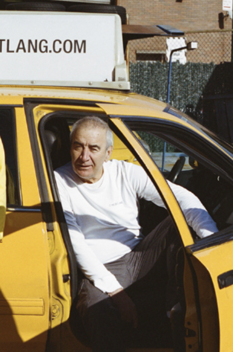 Helmut Lang hires taxi drivers as models