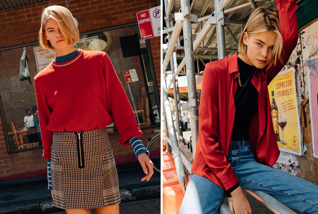 We have a bit of a girl crush on Evelina, it may be because she's got wicked tomboy style but it may also be because she looks like she just stepped out of a 90's boy band,  Hansen  in particular.    Agency:  Clyne NZ, Priscilla's Australia  Lives:  Sydney  Instagram:   @evelina_milward   Clients:  VAMFF, MBFWA, Zimmermann, Bec and Bridge, Tome, Dyspnea, i-D Magazine, Harper's Bazaar Australia, Carla Zampatti, Sass & Bide, Pages Digital, Russh, David Jones, Tibi, Dennis Basso, Strateas Carlucci