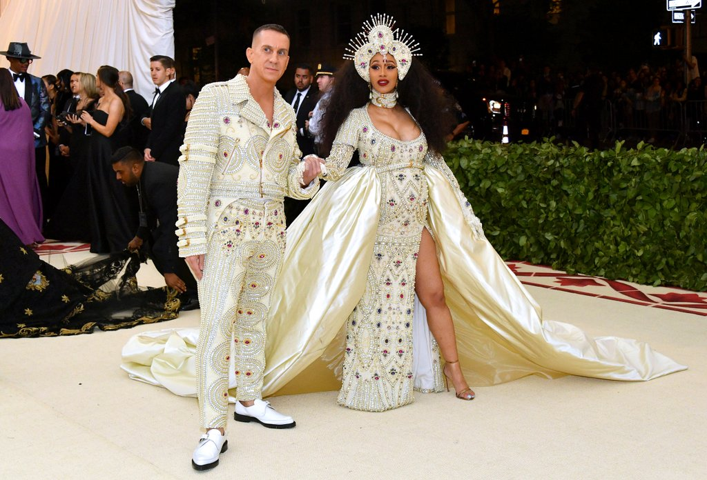 Cardi B and Jeremy Scott