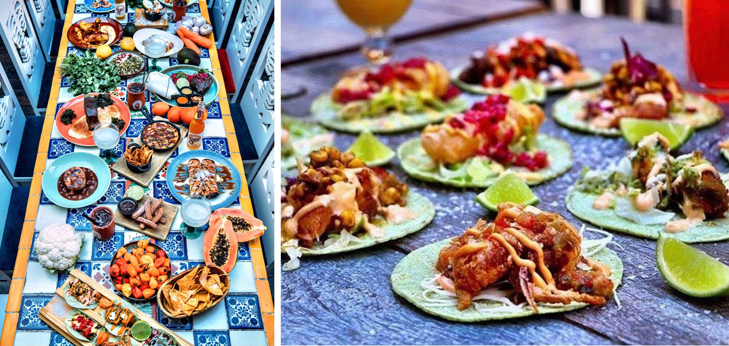 Easily the most photogenic of the taco joint family. With a lively rooftop, vegetarian and gluten-free options, plus over 80 types of tequila, you're surely in for a treat. The menu boasts authentic Mexican cuisine inspired by the colourful region of Oaxaca.   Location:  The Eastern Hotel, 500 Oxford Street, Bondi Junction