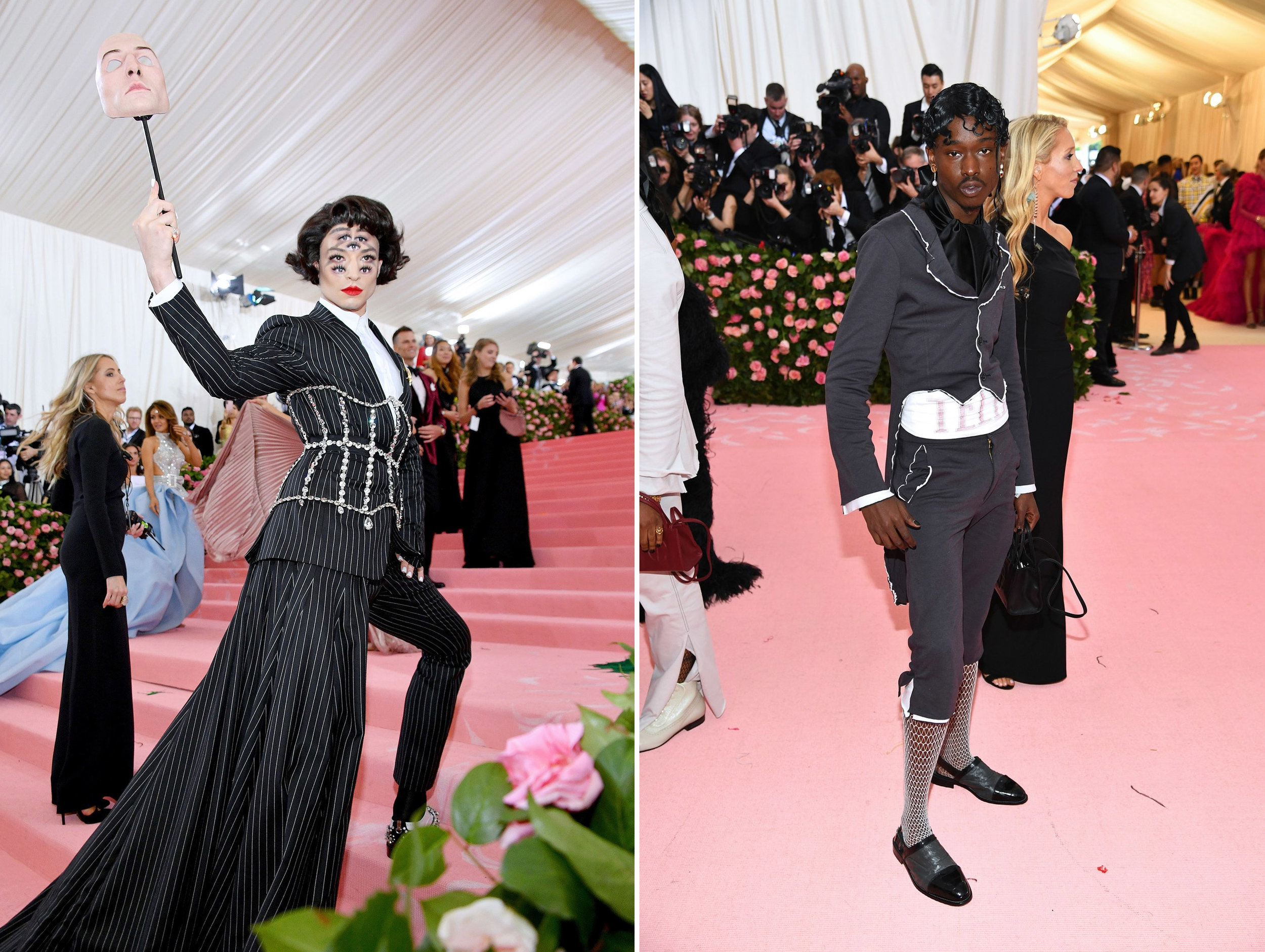 Left: Ezra Miller, Right: Ashton Sanders