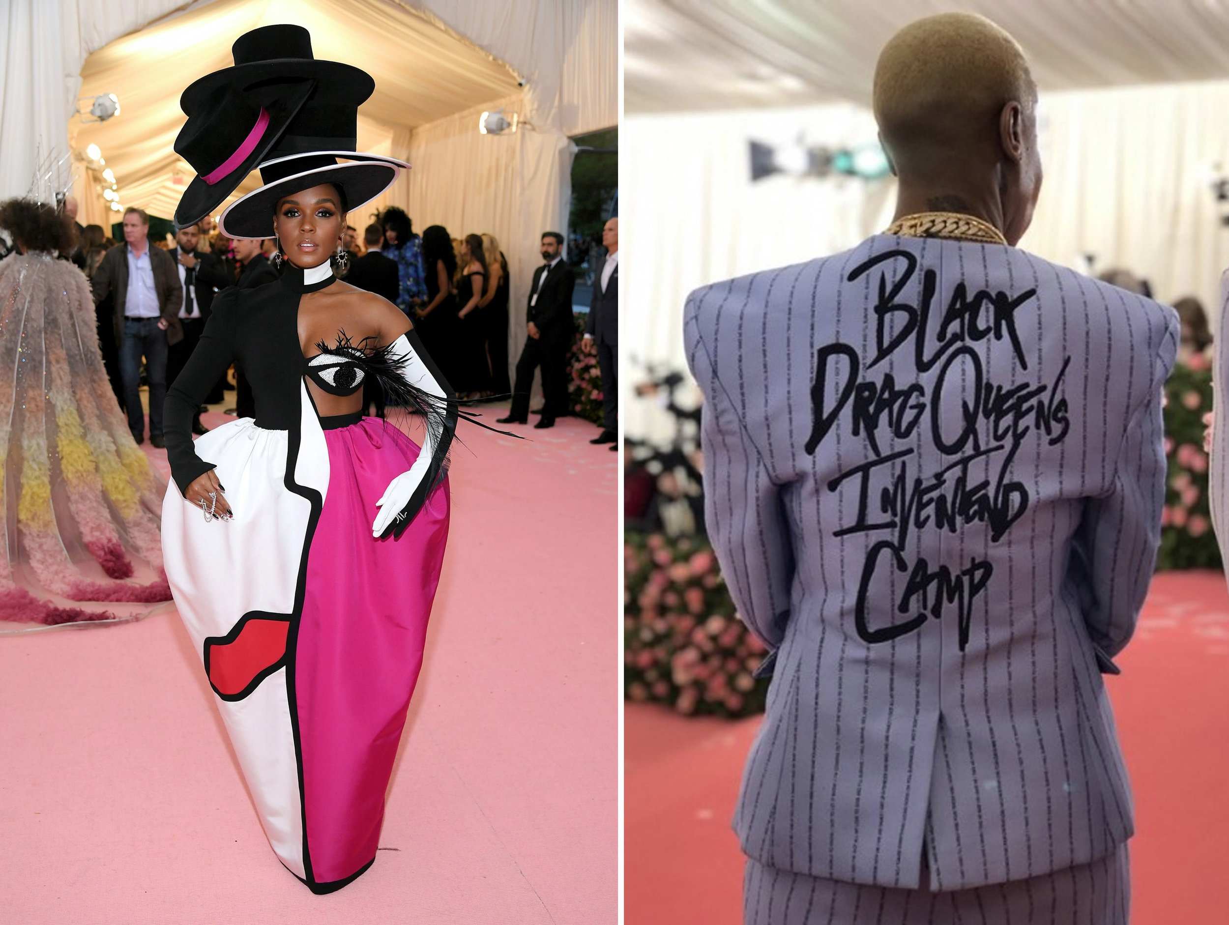 Left: Janelle Monae, Right: Lena Waithe